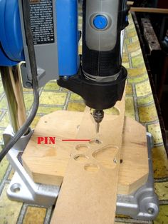 OVERARM DREMEL JIG by morsa - This project is inspired by the router devices in…