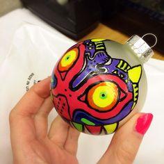 HandPainted Christmas Ornament 3 14  Link  Legend of Zelda