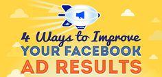 4 Ways to Improve Your Facebook Ad Results : Ads Vento #digitalmarketing #businessopportunity #passiveincome #digitalaltitude #marketing #millionaire #money #workfromhome #success #youngentrepreneur #onlinemarketing #startup #work #mindset #trendy #business #facebookads #facebookadvertising