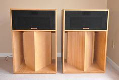 1 Pair Vintage Klipsch La Scala Speakers w Unfinished Cabinets Free Shipping | eBay