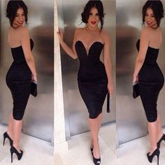 6629d398 Ladies Sexy Off-Shoulder Slim Fashion Bodycon Party Cocktail Evening Dress