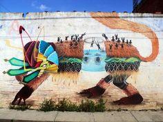 CURIOT http://www.widewalls.ch/artist/curiot/ #illustration #streetart