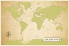 Push pin world map vintage colored map from target cork push pin travel map kit travel world map with by jwdesignstudio gumiabroncs Images