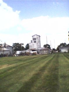 Old but still operating elevator in Lebanon, Indiana.  Lebanon Feed & Grain on Noble St.