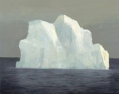 four new iceberg paintings by jeremy miranda
