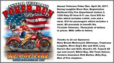 I'll be performing at The Laughlin River Run - at biker registration for the Annual Veterans Poker Run at The Bullhead Fire Department - tomorrow Friday April 28. Hope to see you there!