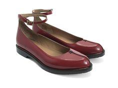 Jen in cherry ~Fluevog Shoes