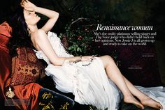 Jessie J by Micaela Rossato for InStyle UK December 2014