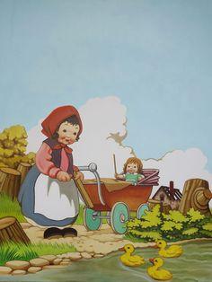 Erik Porstmann gives his retro children's book illustrations a disturbing twist...