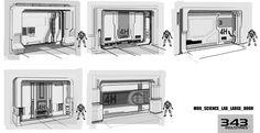 Halo 4 concept art environment