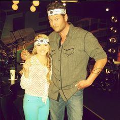 Danielle Bradbery & Blake Shelton