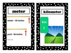 Length Vocabulary Word Wall - This is a set of 8 length vocabulary cards with words and pictures to post in your classroom on length vocabulary word wall or bulletin board.