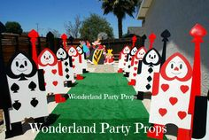 WONDERLAND PARTY PROPS Prop rental and event decorating services ( 661 ) 250-8164