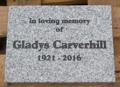 The small granite tablets  are beautifully made and available in five colours.  The small size would make an excellent pet memorial although most of the ones we craft are for people. http://www.sign-maker.net/memorial/stone-memorial-tablets.html
