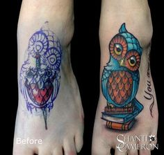 Owl and book cover up - exactly what I want!!