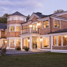 Modern Shingle Style Architecture Design Ideas, Pictures, Remodel and Decor