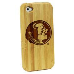 Florida State University Seminoles - Bamboo Case for iPhone® 4/4S: Electronics
