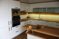 Kuchyně - Kolbert & Daněk © výroba nábytku Kitchen Cabinets, Home Decor, Decoration Home, Room Decor, Cabinets, Home Interior Design, Dressers, Home Decoration, Kitchen Cupboards