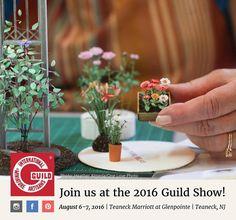 1:12 scala Mauve Orchid /& POT DOLLS HOUSE miniatura Giardino Fiore Accessorio 29