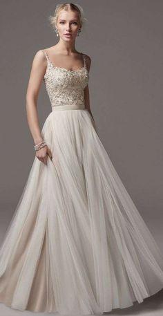 Vestidos de novia 2014: Fotos de diseños sencillos para una boda civil (10/39) | Ellahoy