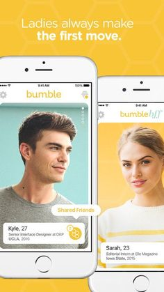 From the minds of previous Tinder executives comes Bumble, an iOS app that lets women run the show. Like Tinder, Bumble lets users swipe right to approve and Online Dating Apps, Best Dating Apps, Dating Again, Dating After Divorce, Dating Memes, Dating Quotes, Birthday Girl Meme, Christian Dating Site, Dating Tips For Men