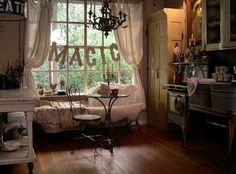 How magical indeed! Sweet decor...