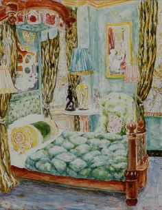 denning and fourcade interior images | painting of robert denning s manhattan apartment image courtesy