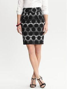 just ordered this for $35 ftw - what should I wear it with to work/pulpit? Emi tulip skirt | Banana Republic
