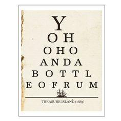 Yo Ho Ho Bottle of Rum Treasure Island von JaneAndCompanyDesign, $20.00
