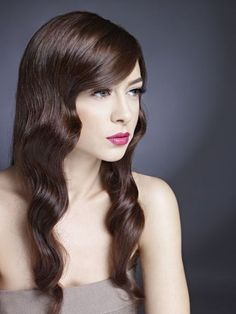 Long Hairstyles With Long Side Bangs
