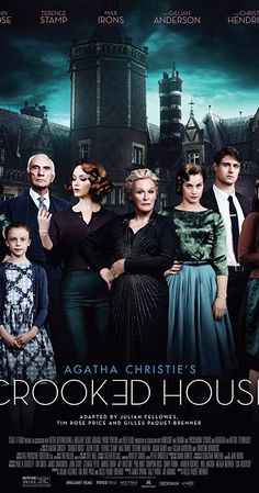 Directed by Gilles Paquet-Brenner. With Christina Hendricks, Gillian Anderson, Glenn Close, Max Irons. Based on the novel by Agatha Christie, private detective Charles Hayward is invited to solve a gruesome crime where nobody is above suspicion, including Sophia, his client and former lover.