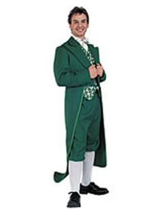 St Patricks Day Deluxe Leprechaun Costume | Mens Classic Costumes