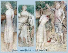 Guiron le Courtois, Milano, 1370 e il 1380. (BNF Nouvelle acquisition française 5243)