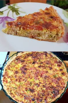 Cookbook Recipes, Cooking Recipes, Savory Tart, Savoury Pies, Greek Recipes, Pain, Quiche, Food Processor Recipes, Food And Drink
