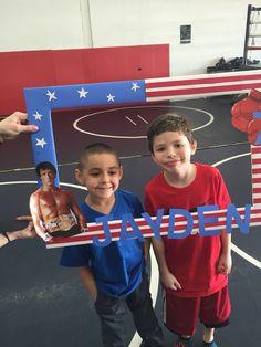 Jayden's 7th birthday rocky balboa boxing party