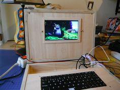 Un portátil DIY con Raspberry Pi a Energía Solar