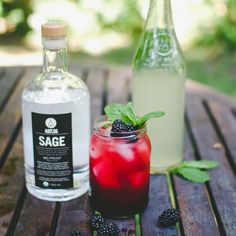 SAGE Blackberry Blush Cocktail