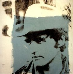 Andy Warhol (American, 1928-1987), Dennis Hopper, 1971. Synthetic polymer and silkscreen inks on canvas, 40 x 40 in.