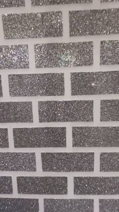 Sticky backed / self adhesive glitter tiles for creating a glitter brick feature wall or section on a wall. These are by 4 inches. Sold per single glitter brick tile. Made from cotton backed PU and coated in chunky textured glitter. Glitter Bathroom, Glitter Tiles, Glitter Room, Glitter Paint For Walls, Glitter Wallpaper, Bulk Glitter, Bling Bathroom, Glitter Accent Wall, Brick Feature Wall