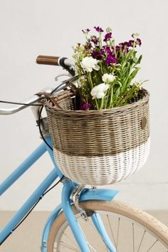 Dip-Dyed Bike Basket, What will you carry in here? http://keep.com/dip-dyed-bike-basket-by-dimak89/k/zpTn6hgBHU/