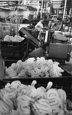 The Fuller Brush plant in East Hartford, 1960