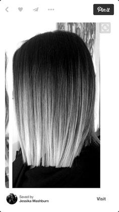 hair highlights balayage I want this! Hair Dye Colors, Ombre Hair Color, Hair Color For Black Hair, Black Hair With Grey Highlights, Gray Hair, Balayage Hair Grey, Lilac Hair, Pastel Hair, Blue Hair