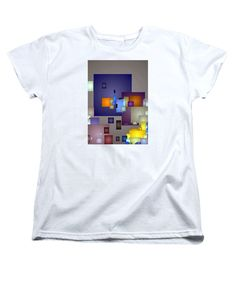 Women's T-Shirt (Standard Cut) - Geometric Nightlife