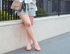 Rose Espadrilles from Barefoot Living (ironically)