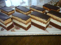 Neodolateľné pudingové kocky: Slovak Recipes, Czech Recipes, Ethnic Recipes, Cookie Recipes, Dessert Recipes, Homemade Cakes, No Bake Cake, Sweet Recipes, Tiramisu
