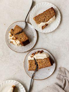 roasted banana chai spice cake - olives+thyme - cakes