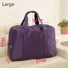 Hot Selling Large Capacity Folding Waterproof Sports fitness Travel Luggage bag portable Unisex Shoulder Handbag Clutch Bag