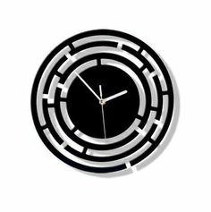 120925285106 - orologi design, orologi da parete, orologi da parete in acciiaio - ITALpol - orologio da parete in acciaio, orologio da paret...