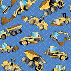 12 Best Caterpillar Construction Fabric Images On