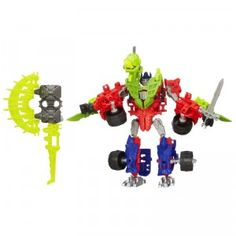 Transformers Age of Extinction Construct-Bots Dinobot Warriors Optimus Prime & Gnaw Dino from Hasbro